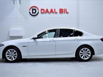begagnad BMW 520 d xDrive Sedan 190HK P-SENSOR F&B NYSERV. RATTVÄRME