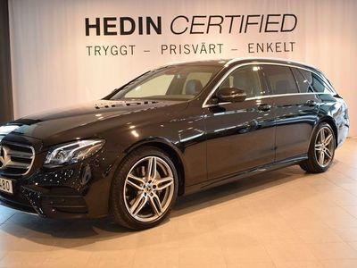 begagnad Mercedes E200 //AMG// VÄRMARE // DÖDVINKELASSISTENT