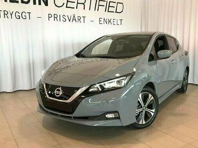 begagnad Nissan Leaf N-CONNECTA 40 KWH EL 2021, Halvkombi Pris 394 900 kr