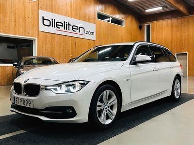 begagnad BMW 318 D Sport Line Drag LED EU6 150hk