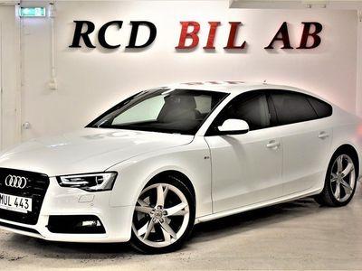 begagnad Audi A5 2.0 TDI S LINE QUATTRO ALCANTARA PDC