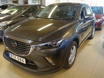 begagnad Mazda CX-3 2.0 SKYACTIV-G AUT M+K VÄRMARE NAV V-HJUL