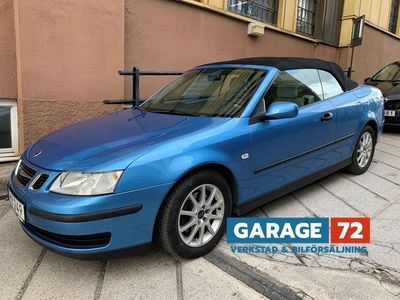 begagnad Saab 9-3 Cabriolet 1.9 TiD Automat 150hk