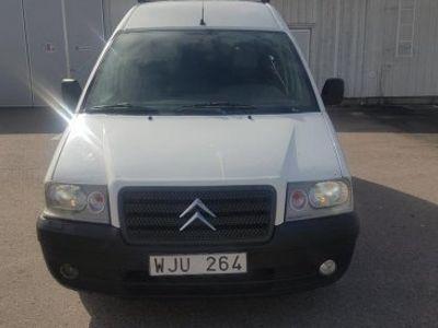 gebraucht Citroën Jumpy II 2.0 HDi En vit lätt lastbil -04