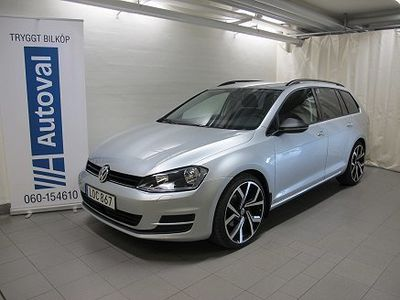 begagnad VW Golf VII 1,6 BlueMotion Sportkombi 2015