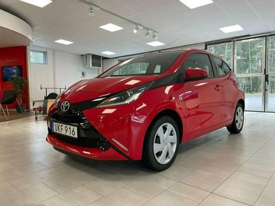 begagnad Toyota Aygo 5-dörrar 1.0 69hk - Vinterhjul