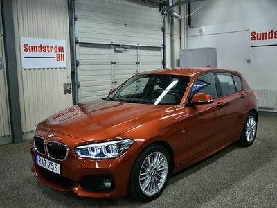 begagnad BMW 120 i 184Hk M-Sport Nav Innovation Steptronic