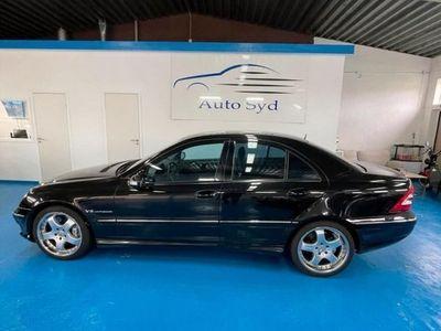 begagnad Mercedes C32 AMG C-KlassAMG Automatisk, 354hk Special Edition