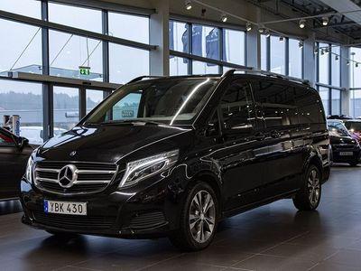 begagnad Mercedes V220 CDI 220d Lång Navi Drag 7-Sits