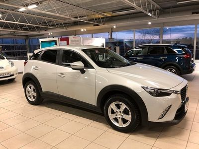 begagnad Mazda CX-3 2.0 SKYACTIV-G Automat V-HJUL 2017, SUV 164 900 kr
