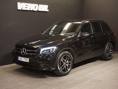 begagnad Mercedes GLC250 4MATIC AMG Värmare Backkamera Navi Drag
