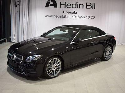 begagnad Mercedes E300 Cabriolet // AMG // Premiumpaket PLUS //