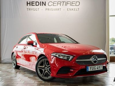 begagnad Mercedes A180 d // AMG & Widescreen //