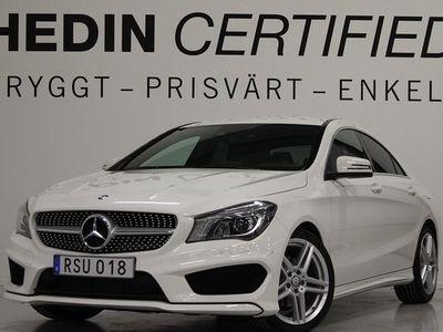 begagnad Mercedes 180 CLA BenzCoupé Backamera AMG-Line PDC 2015, Sportkupé 209 900 kr