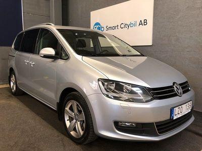 begagnad VW Sharan 2.0 BlueTDI Premium 7-sits 140hk GPS