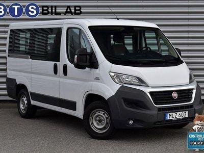 begagnad Fiat Ducato Crew Van 9-sits 150hk