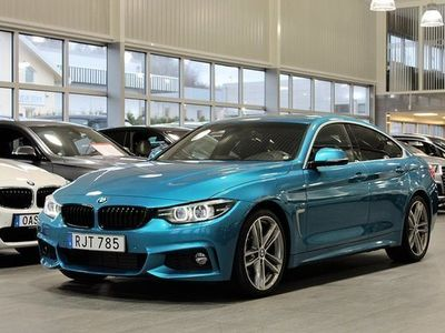 begagnad BMW 430 Gran Coupé i 252hk M Sport Euro 6