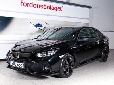 begagnad Honda Civic 1.0 CVT Elegance 2017, Halvkombi 169 000 kr