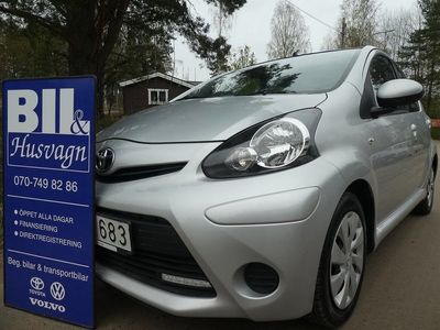 begagnad Toyota Aygo 5D 10900 MIL/NYBES/NYSERV/FINANS/