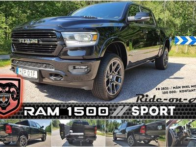 begagnad Dodge Ram SPORT- Luft-MultiTailgate (fr 2831:-/mån ink moms 100 0