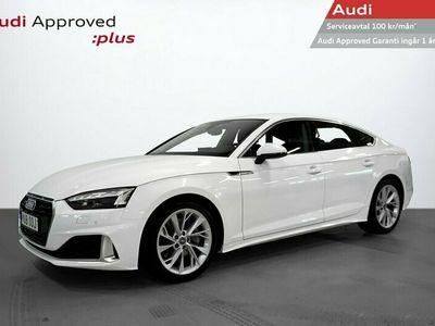 begagnad Audi A5 Sportback Quattro 45 TFSI 2.0 245HK S-tronic Proline Advanced