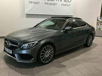 begagnad Mercedes C400 C Benz4MATIC AMG LINE 2018, Sportkupé Pris 439 500 kr