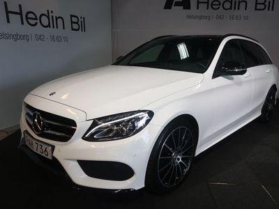 "begagnad Mercedes C220 C-KLASSd Kombi AMG Paket 19"" Alu / Panorama glastak 2016"