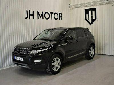 begagnad Land Rover Range Rover evoque 2.2 SD4 4WD 190hk Panorama