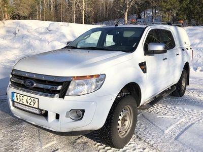 begagnad Ford Ranger 2.2 TDCi 4WD 2015, Transportbil 145 000 kr