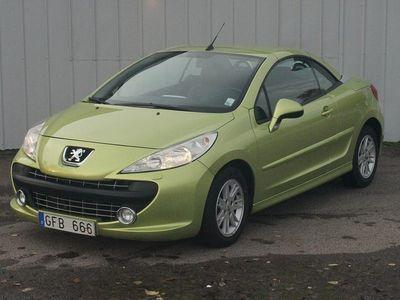 begagnad Peugeot 207 CC 1.6 VTi Automat Sport 120hk -09