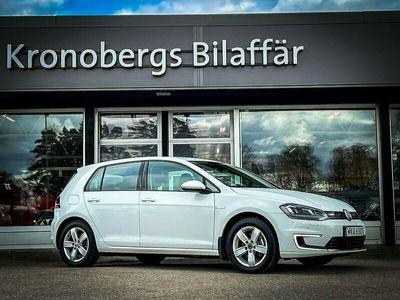begagnad VW e-Golf 24.2 kWh 115hk Comfort