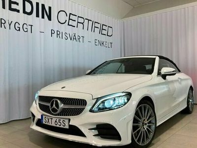 begagnad Mercedes C300 C BenzCAB AMG BURMESTER MINNESPAKET 2021, Cab Pris 514 900 kr