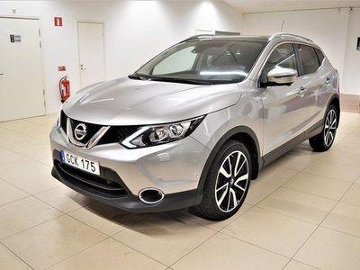 begagnad Nissan Qashqai 1.6 Tekna Aut Navi Skinn 2017, SUV 194 900 kr