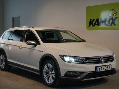 usado VW Passat Alltrack 2.0 TDI 4M Executive Webasto SoV-hjul (190hk)