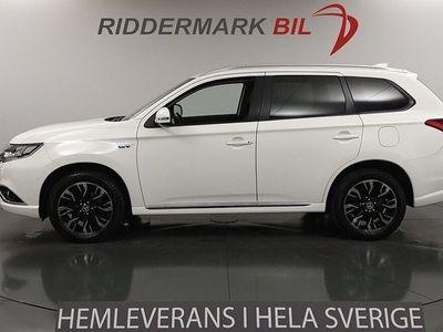 begagnad Mitsubishi Outlander P-HEV 2.0 Hybrid 4WD Värmare Drag 203hk
