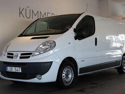 begagnad Nissan Primastar 2.0 dCi 114hk Lång/Dieselvärmare/Dragkrok
