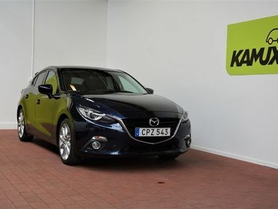 begagnad Mazda 3 Optimum Sport 2.0 SKYACTIV-G, 165hk,