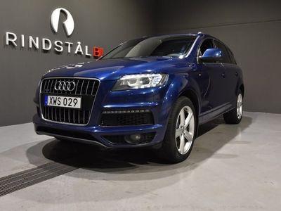 """begagnad Audi Q7 3.0 TDI V6 245 HK Q S-LINE 7-SITS D-VÄRM 20"""""""