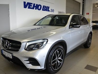 begagnad Mercedes 220 GLC Benzd 4MATIC 9G-Tronic Euro 6, Parkeringsvärmare, Comandonline 2019, SUV 439 000 kr