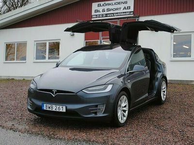 begagnad Tesla Model X 90D 2017, Sedan Pris 714 000 kr