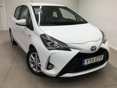 begagnad Toyota Yaris Hybrid 1.5 ACTIVE 2018, Halvkombi 136 800 kr