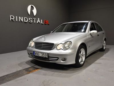 begagnad Mercedes C230 Kompressor Sedan 193 HK CLASSIC