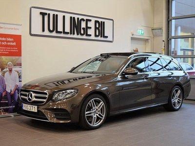 begagnad Mercedes E350 4M AMG Panorama Burmeste