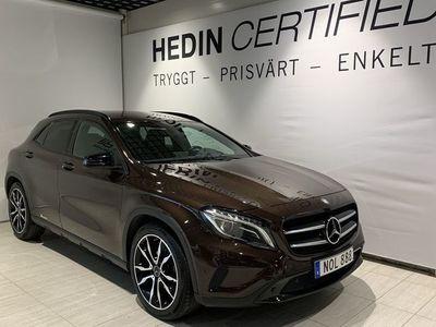 begagnad Mercedes GLA220 D 4 matic//Nightpackage//drag//