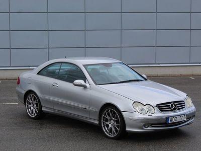 begagnad Mercedes CLK320 Coupé Automat 218hk Besiktigad
