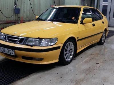 begagnad Saab 9-3 99 Monte Carlo gul, Viggen inredning -99