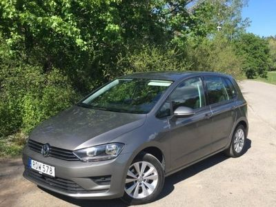 begagnad VW Golf Sportsvan TSI 110 M+K-värm, Drag