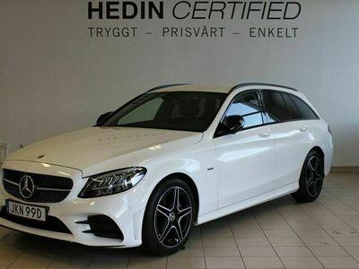 begagnad Mercedes 220 - Benz C - Klassd AMG Night, Drag, Panelbelysning,