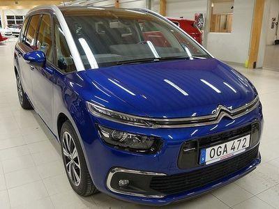 begagnad Citroën Grand C4 Picasso BlueHDi 120 EAT6 Feel 7-sits 2016, Kombi 275 850 kr