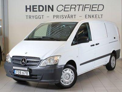begagnad Mercedes Vito 113CDI 136 HK drag aut v-hjul